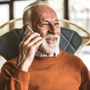 Ring Seniorlinjen när du vill prata med någon