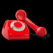 Prata i telefon på Heta Linjen