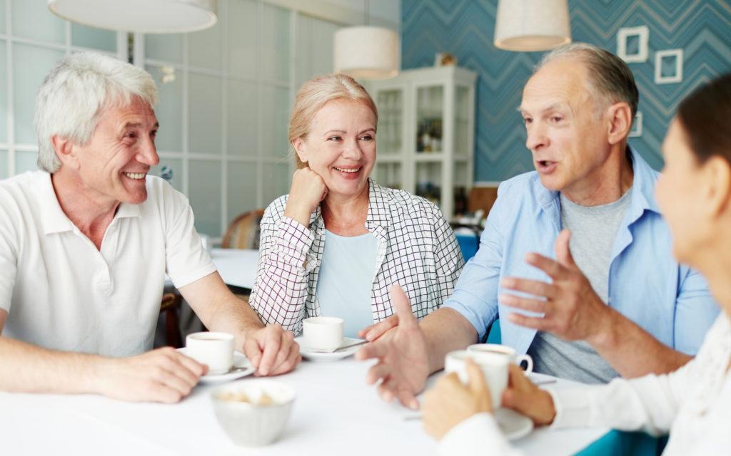 En träffpunkt för seniorer